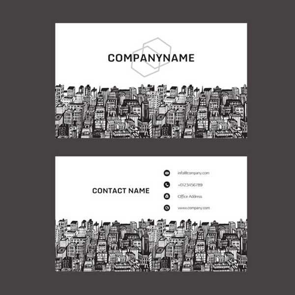 Impresión de tarjetas personales para inmobiliaria y agentes inmobiliarios.