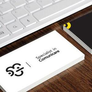 Diseño minimalista para tarjetas