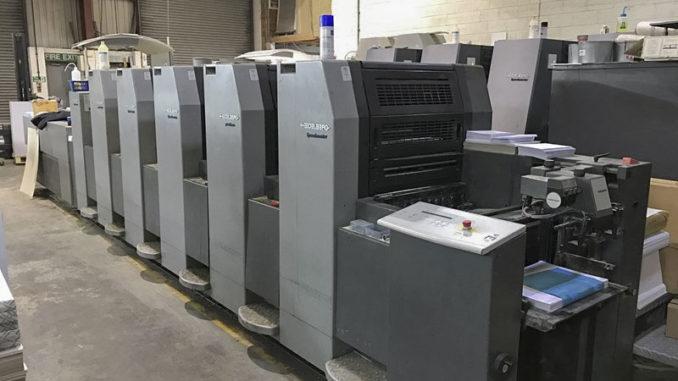 Impresión de catálogos maquinaria offset