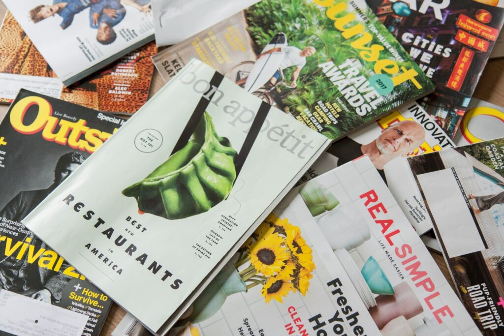 Imprimir revistas