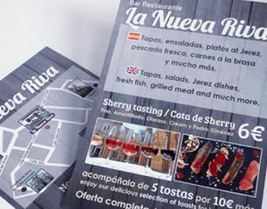 Impresión de flyers publicitarios personalizados