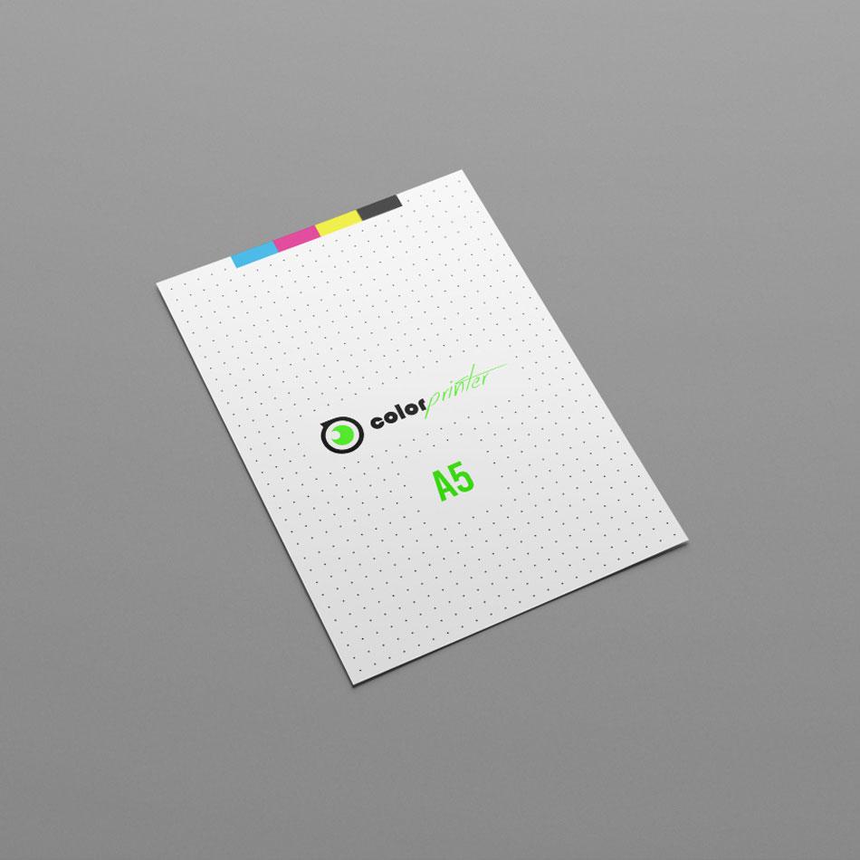Impresión de flyers A5 de alta calidad para empresas y profesionales que quieren publicitar su negocio.
