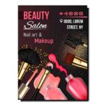 Imprimir flyers de maquillaje profesionales para maquilladores y maquilladoras.