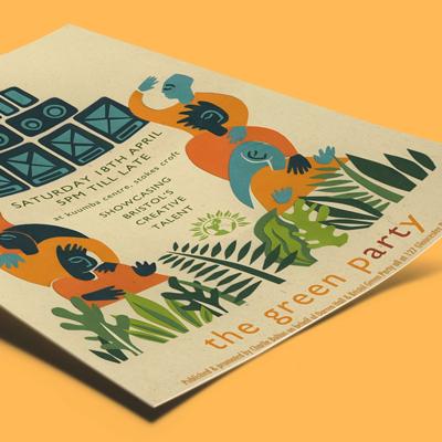 flyers ecológicos con papel reciclado