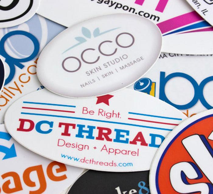 Impresión de flyers ovalados para negocios, profesionales, empresas, y eventos.